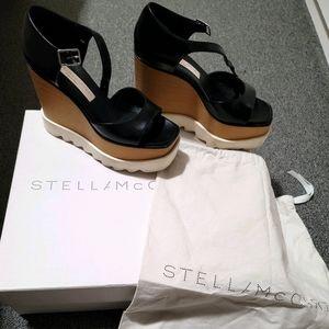 Stella McCartney open toe platform size 35